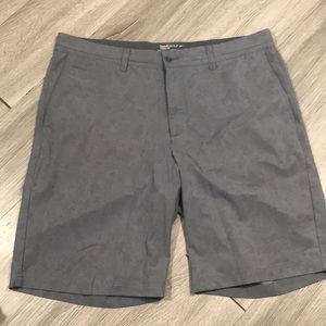 Nike Golf Modern Fit Gray Print Dri-fit Shorts